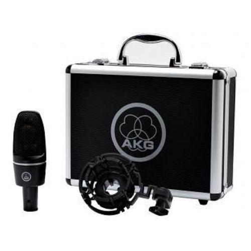 condensador akg microfone