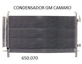 condensador chevrolet camaro oem-20966055 fluxo paralelo
