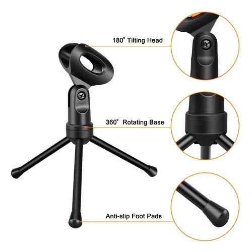 condensador con micrófono