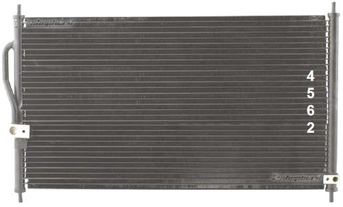 condensador de a / c acura integra 1.8l 1994 - 2001 nuevo!!!