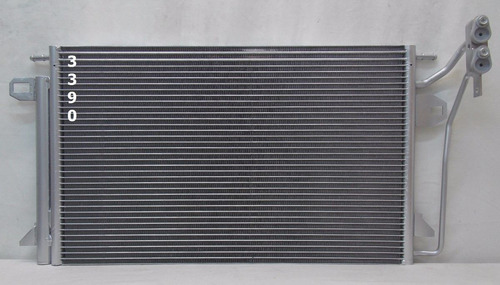 condensador de a / c ford fusion 2.3l 3.0l 2006 - 2012