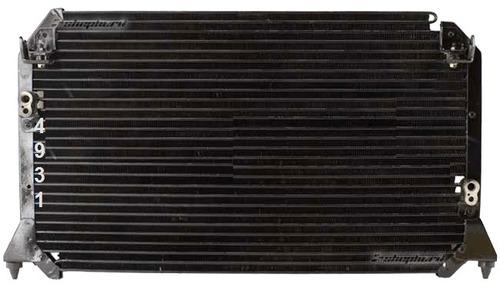 condensador de a/c lexus es300 1997 - 2001 nuevo!!!