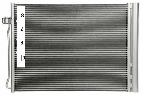 condensador de aire acondicionado bmw x6 2008 - 2010
