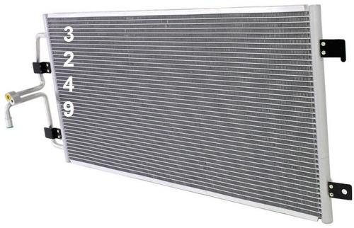 condensador de aire acondicionado buick lacrosse 2005 - 2005
