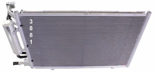 condensador de aire acondicionado ford fiesta 2011 - 2013