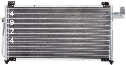 condensador de aire acondicionado mazda protege 1999 - 2001