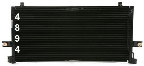 condensador de aire acondicionado nissan altima 1998 - 2000