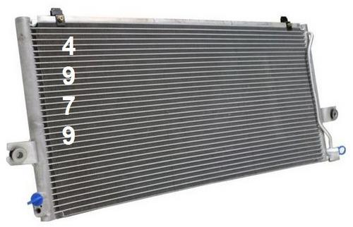 condensador de aire acondicionado nissan altima 2000 - 2001