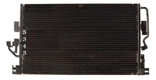 condensador de aire acondicionado saturn vue 2004 - 2006