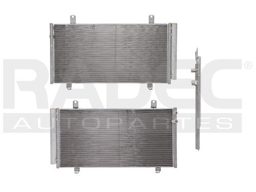 condensador de aire  camry/avalon 12-16 l4/v6 2.5/3.5 lts