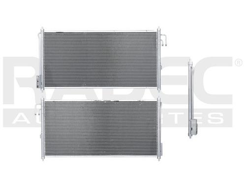 condensador de aire  murano 03-07 v6 3.5 lts automaticomsi