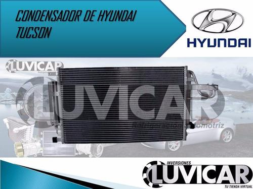 condensador de hyundai tucson  / kia sportage 05-10