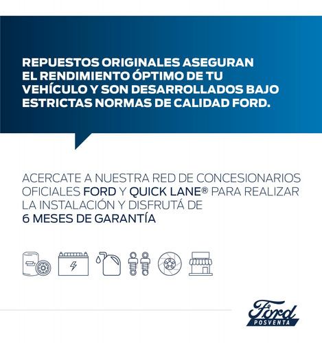 condensador del aire acondicionado ford ka 08/12