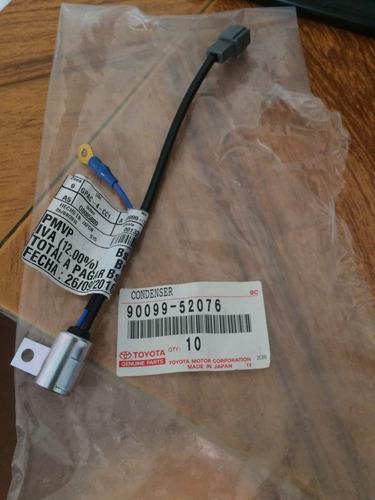 condensador distribuidor corolla avila / araya / baby camry
