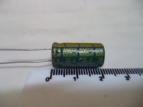 condensador electrolitico 1000uf 35v. precio unidad en.