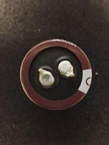 condensador electrolítico 82 uf 500 voltios snap - in