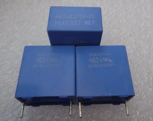 condensador mkp337 x2 275vac seg. 0.68 uf 680nf p15 684
