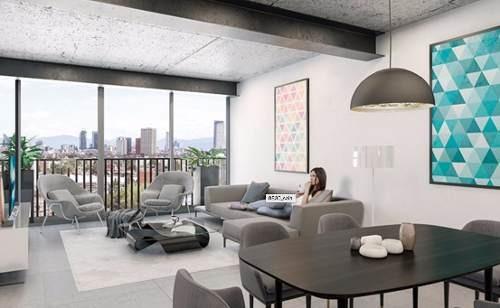 condesa, departamentos con diseño urbano y vanguardista
