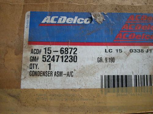 condesador de g. blazer - c1500-c3500 - tahoe-96-00