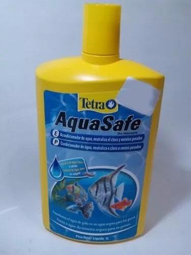 condicionador aquasafe 1lt tetra