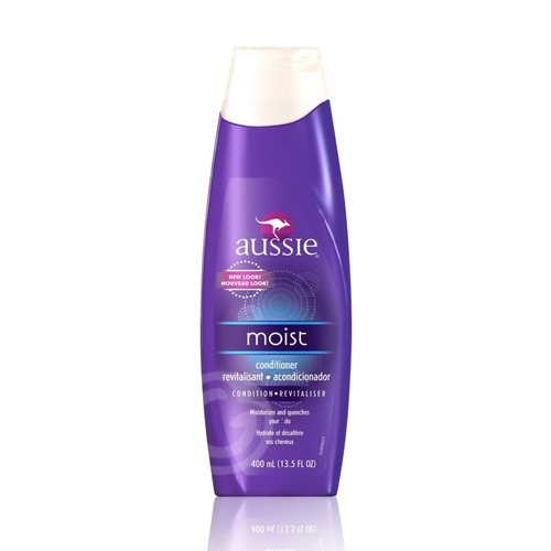 condicionador aussie moist 400ml - pronta entrega