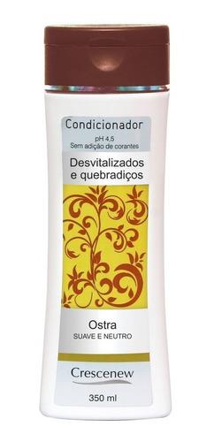 condicionador cabelo ostra - queratina, todo tipo de cabelo