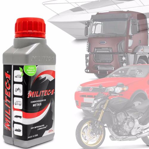 condicionador de metais militec-1 carro moto caminhão lancha