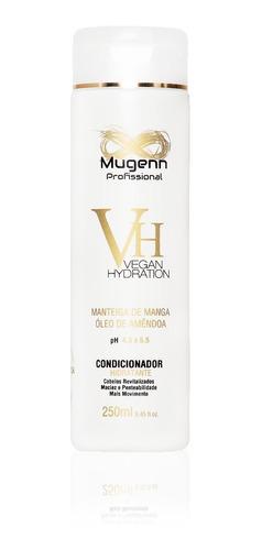 condicionador hidratante vegano mugenn cosméticos 250ml