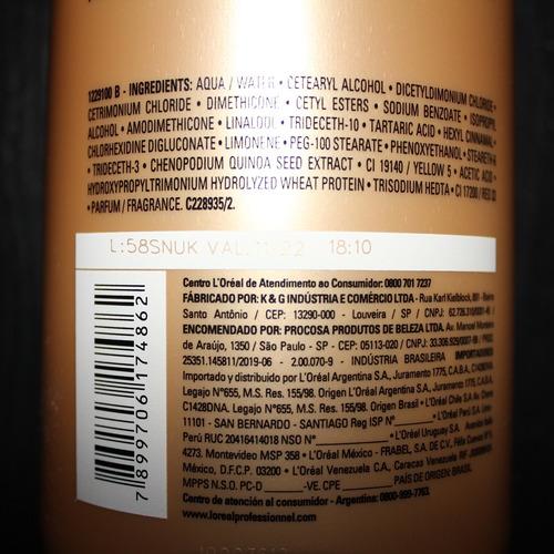 condicionador loreal absolut repair gold quinoa protein 1,5l