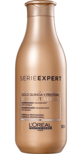 condicionador loreal absolut repair goldquinoa protein 200ml