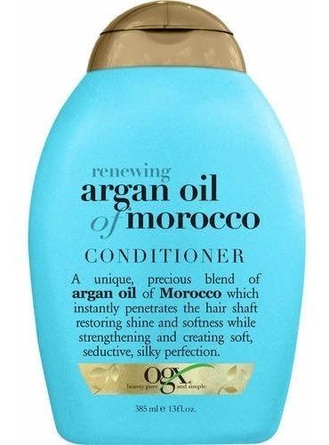 condicionador renewing argan oil of morocco ogx 385ml