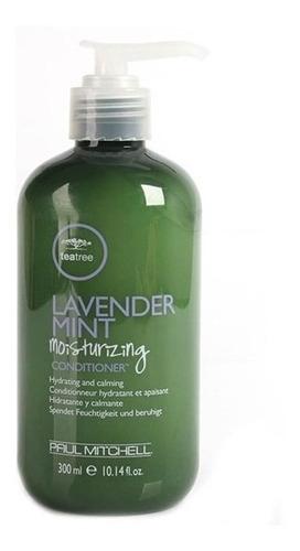 condicionador tea tree lavender mint moinsture paul m. 300ml