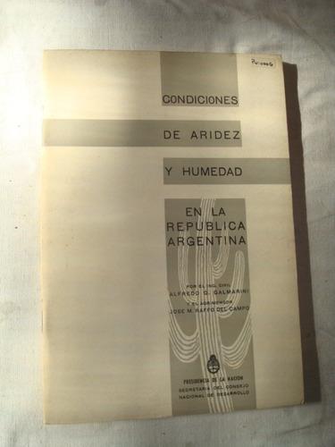 condiciones de aridez y humedad en la rep.argentina - scnd