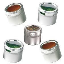 4 x porta condimento tempero geladeira inox magn tico im for O que e porta condimentos