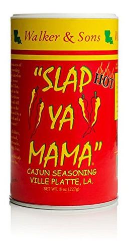 condimentos walker and sons slap ya mama cajun
