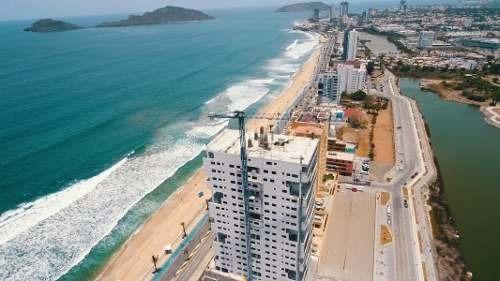 condominio a la venta en mazatlan, frente al mar