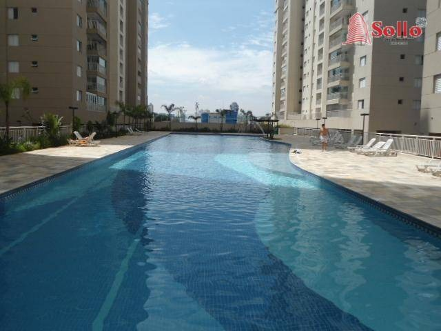 condomínio alegria apartamento 83m² com armários vista para área de lazer 3 quartos - guarulhos/sp - ap0257