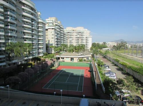 condomínio barra sunday-3qts 75m² - 2 suites