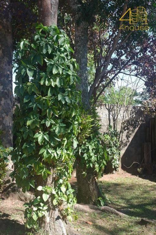 condomínio bosques de currupira , jundiai - chácara 1.000m² casa 03 suítes 02 vagas com vegetação da mata atlântica - ch0005