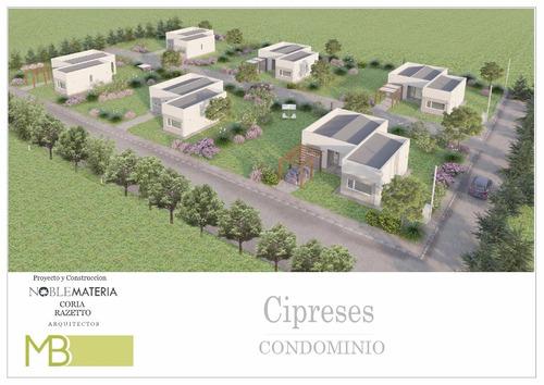 condominio cipreses. casas de primer nivel + lote