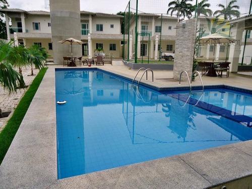 condomínio de casas duplex, 03 suítes, gabinete, 02 vagas,eusébio - ca0146