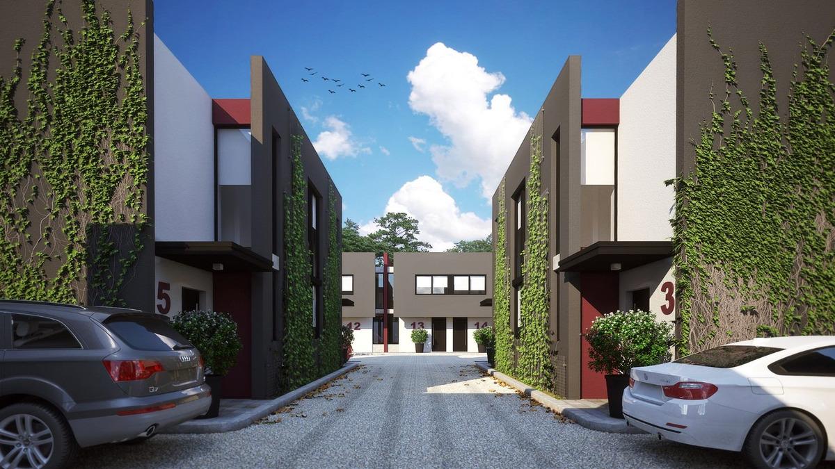 condominio de duplex 3 amb de pozo en ituzaingo