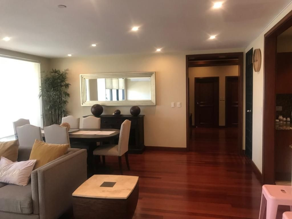 condominio en renta amueblado, torre esmeralda, newcity residencial, zona rio