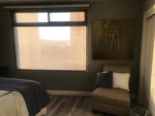 condominio en venta amueblado,  torre esmeralda, newcity residencial, zona rio