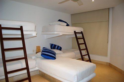 condominio  en venta playa privada  gruitarron acapulco1176