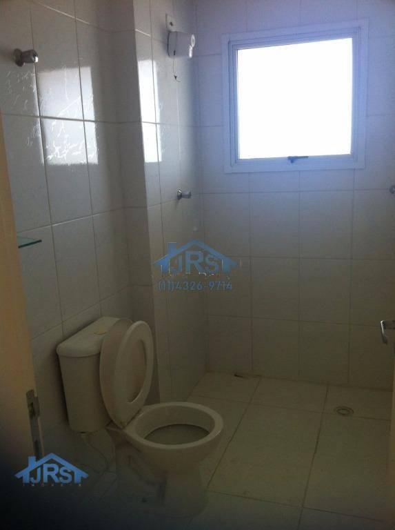condomínio evidence apartamento duplex com 2 dormitórios à venda, 92 m² por r$ 341.000 - centro - jandira/sp - ad0035