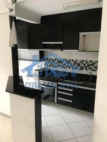 condomínio evidence apartamento garden com 2 dormitórios à venda, 80 m² por r$ 234.100 - centro - jandira/sp - gd0008