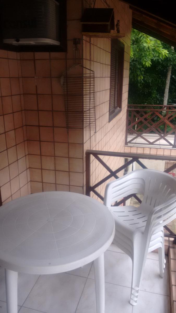 condominio fechado, apt com varanda