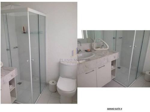 condominio fechado em condomínio para venda no bairro balneário cidade atlântica, 5 dorm, 5 suíte, 6 vagas, 370 m.cf0041 - cf0041