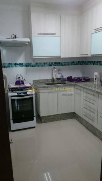 condominio fechado em condomínio para venda no bairro vila carrão, 2 suítes,  1 vaga, 70 m - 3461
